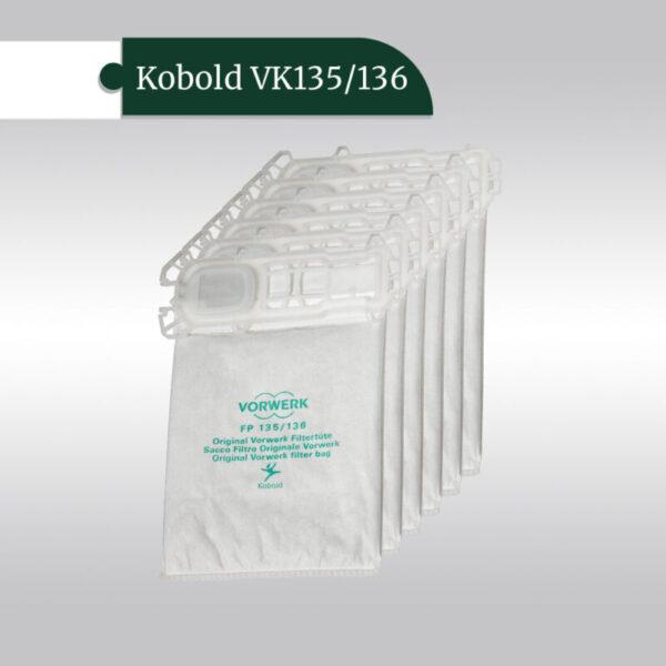 Фильтр-пакеты для пылесоса Kobold VK135/136